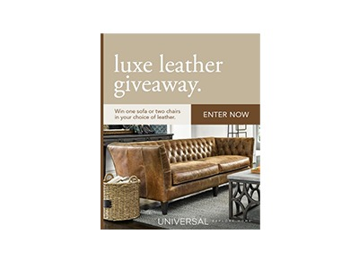 Universal Furniture Luxe Leather Giveaway