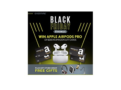 Win Apple AirPods Pro or $200 Amazon Gift Card