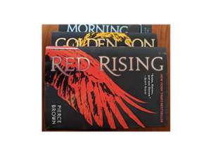 Win Hardcover Copies of the First 3 Books in Pierce Brown's Red Rising Series