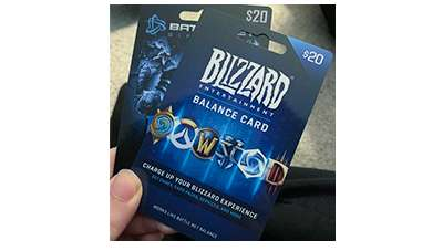Blizzard Entertainment Gift Card Giveaway