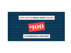 Book Riot Unusual Suspects Giveaway