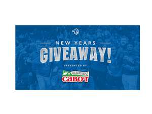 Cabot Cheese New Years Giveaway