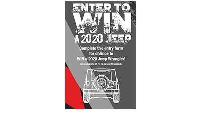 EZ Trunk Win A 2020 Jeep Wrangler Sweepstakes