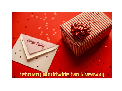 February Worldwide Fan Giveaway