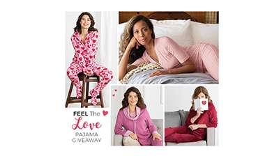 Feel The Love Pajama Giveaway