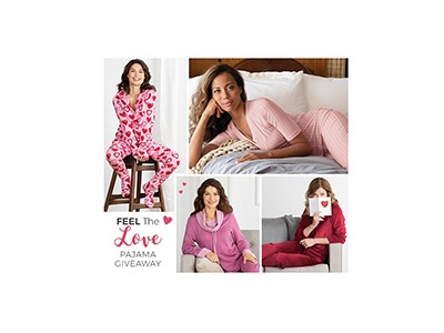 Feel The Love Pajama Giveaway