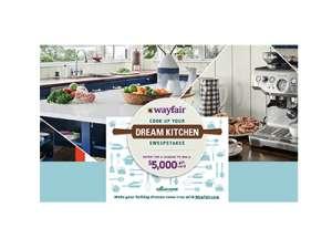 Food Network Wayfair Dream Kitchen Sweepstakes