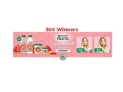 Garnier Fructis Watermelon Treats Giveaway