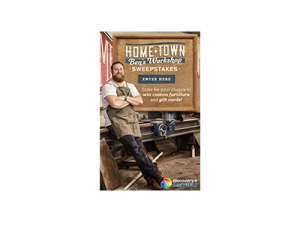 HGTV Home Town Ben's Workshop Sweepstakes