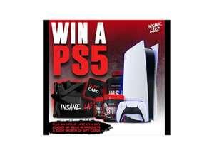 Insane Labz Sony PS5 Giveaway