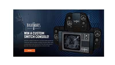 Little Nightmares II Switch Console Giveaway