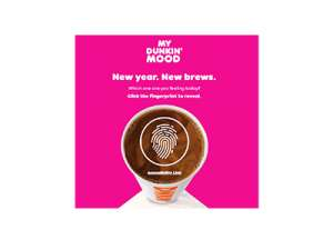 My Dunkin' Mood Sweepstakes