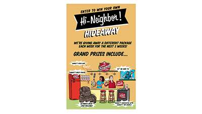Narragansett Beer Neighbor Hideaway Giveaway