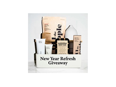 New Year Refresh Giveaway