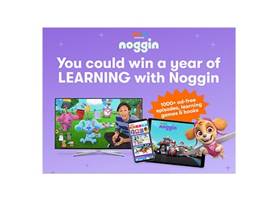 Nick Jr. Noggin Sweepstakes