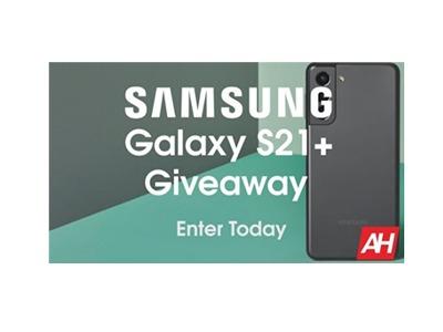 Samsung Galaxy 21+ Giveaway