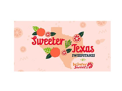 Sweeter in Texas Sweepstakes
