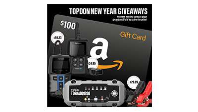 TOPDON New Year Giveaways