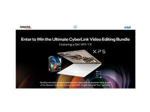 Intel CyberLink Video Editing Bundle Sweepstakes