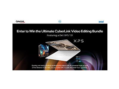 Intel CyberLink Video Editing Bundle Sweepstakes