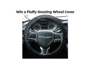 Win a Fluffy Steering Wheel Cover