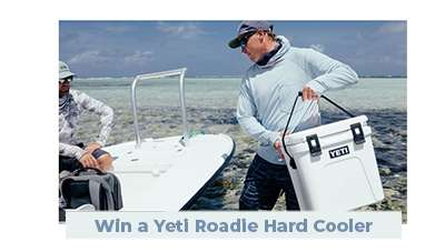Win a YETI Roadie 24 Hard Cooler
