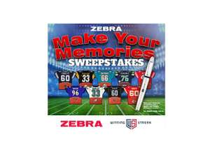 Zebra Make your Memories Sweepstakes  2021