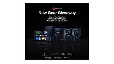BPM Create New Gear Giveaway