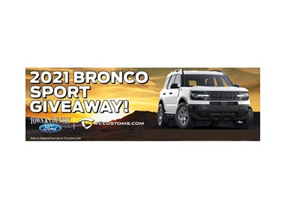 Win the 2021 Bronco Sport