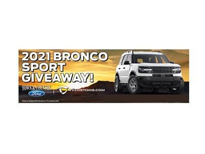 Win the 2021 Bronco Sport