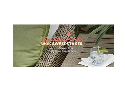 Bassett Furniture Outdoor Oasis Giveaway