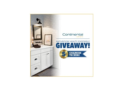 Continental Cabinets Bathroom Vanity Giveaway