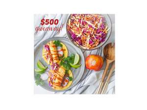 Couple in the Kitchen $500 Gift Card Giveaway