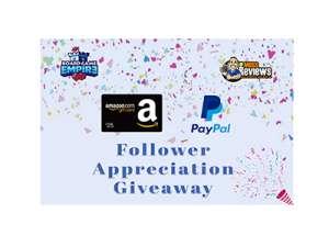 Worldwide Follower Appreciation Giveaway