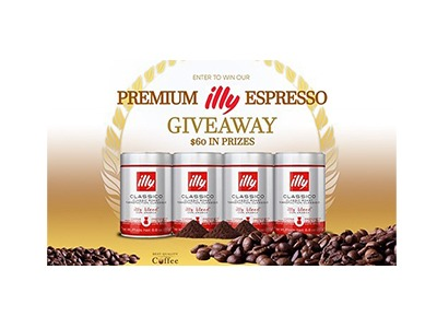 Illy Premium Coffee Giveaway