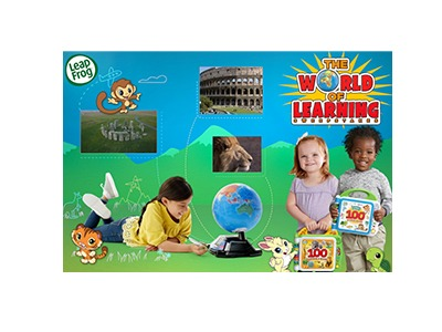 LeapFrog World of Learning Sweepstakes