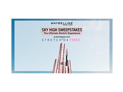 Maybelline New York Sky High Sweepstakes