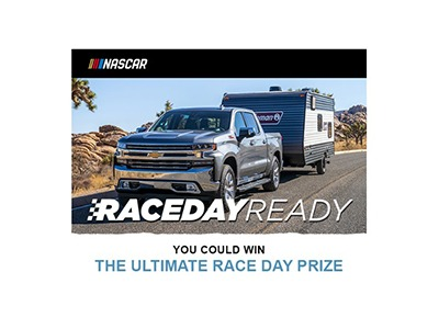 Nascar Race Day Ready Sweepstakes