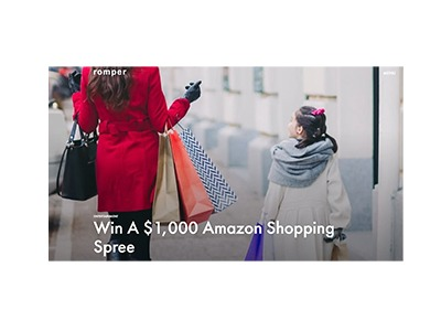 Romper Amazon Shopping Spree Sweepstakes