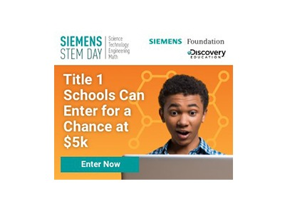 Siemen STEM Day Possibility Grant Sweepstakes