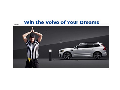 Volvo Cars Safety Sunday Sweepstakes