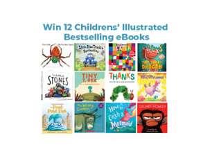 Win 12 Children's Illustrated Bestselling eBooks