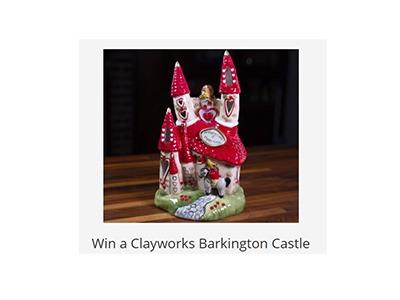 Win a Clayworks Barkington Castle