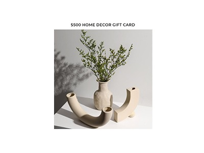 Improving Homes Home Decor Gift Card Giveaway