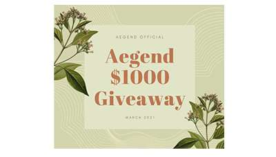 Aegend's $1000 Amazon Gift Cards Giveaway