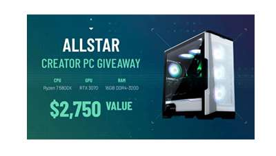 Allstar Creator PC Giveaway