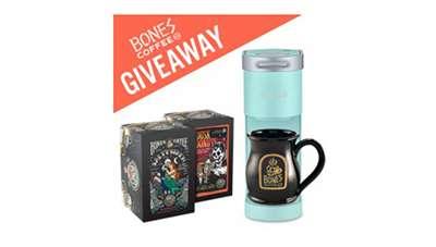 Bones Coffee Keurig Giveaway