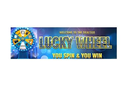 Dealsgo Lucky Wheel Giveaway