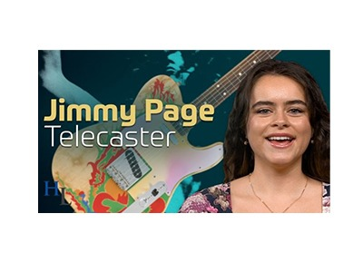 Fender Jimmy Page Telecaster Giveaway