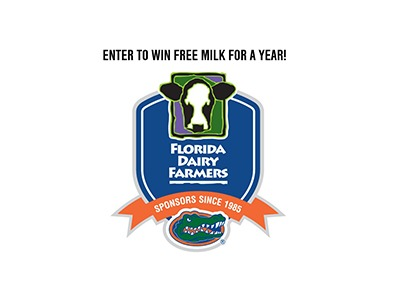 Florida Dairy Farmers Win Free Milk for a Year Giveaway